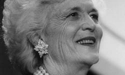 Barbara Bush by Public Domain http://feedproxy.google.com/womeninhistory